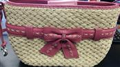 BRIGHTON Handbag BOW STRAW PURSE